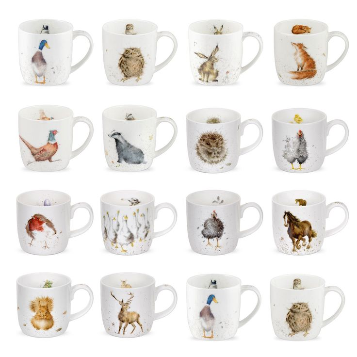 Wrendale Designs - Countryside Animal / Wild Animal Mugs | eBay