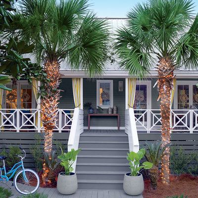 Elegant Coastal Living Beach Cottage Showhouse 2015, Located In Seagrove, Florida.  Classic, Compact