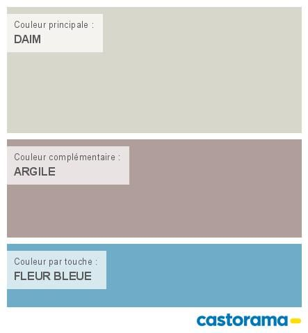 Castorama Nuancier Peinture - Mon harmonie Peinture  DAIM satin de COLOURS Respirea