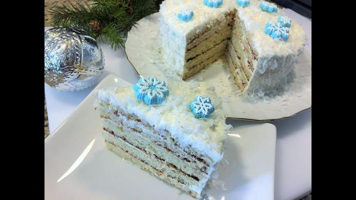 Новогодний Торт МОЛОЧНАЯ ДЕВОЧКА.  Самый простой и вкусный рецепт. КОНКУРС.  Christmas cake