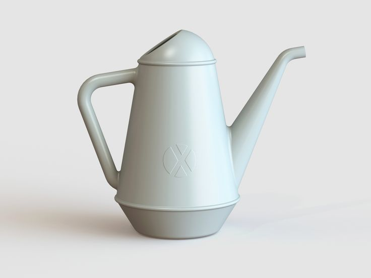 #BUTLER, a #XALA 6L watering can in white-grey by Anthony Duffeleer