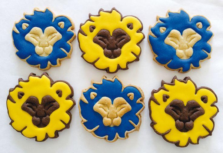 Leeuwen Koekjes / Lions Cookies