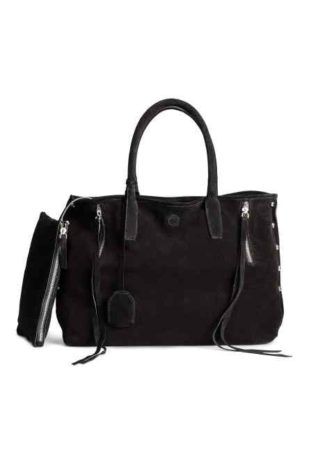 Suede Shopper Bag from H&M R1389,99