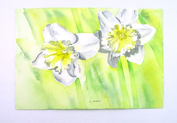 This article (click on the image to go to the article) about the new features in Flickr is interesting. I use flckr.com to display selections of my sold artwork. It is a great online community for sharing your images. To see my flickr photostream just search for 6catsart on flickr. The daffodil image is of one of my sold watercolor paintings. © 2013 Corinne Aelbers