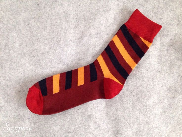 Red & Brown stripe socks!!