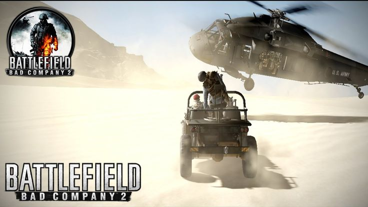 Battlefield 2 Bad Company | Mission 9 | SANGRE DEL TORO | Shoot in The Sand