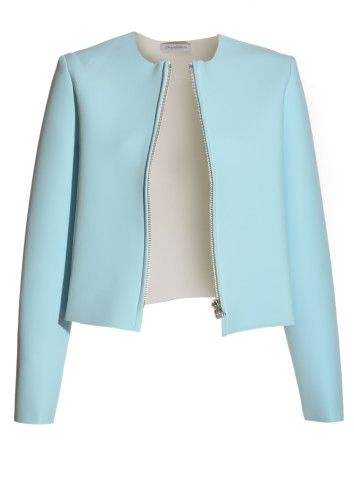 Baby Blue Neoprene Jacket by J.W.Anderson