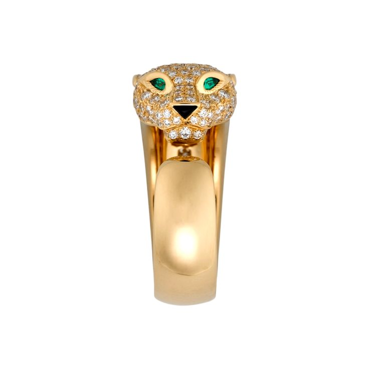 Cartier, Panthere de Cartier...love the emerald detail!