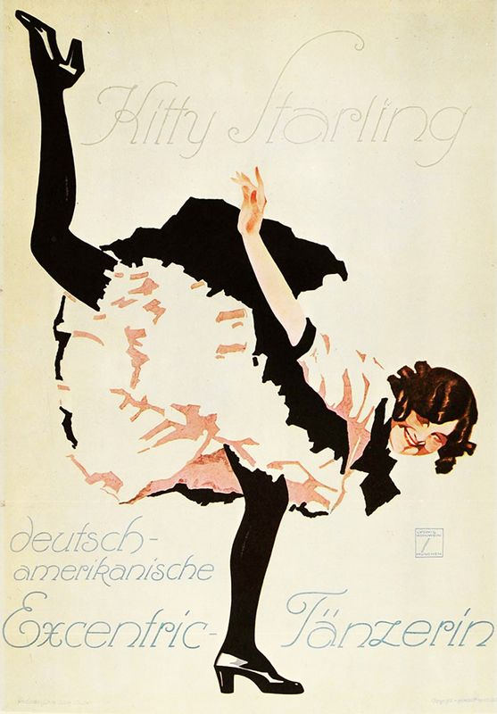 Kitty Starling by Hohlwein, Ludwig | Vintage Posters at International Poster Gallery