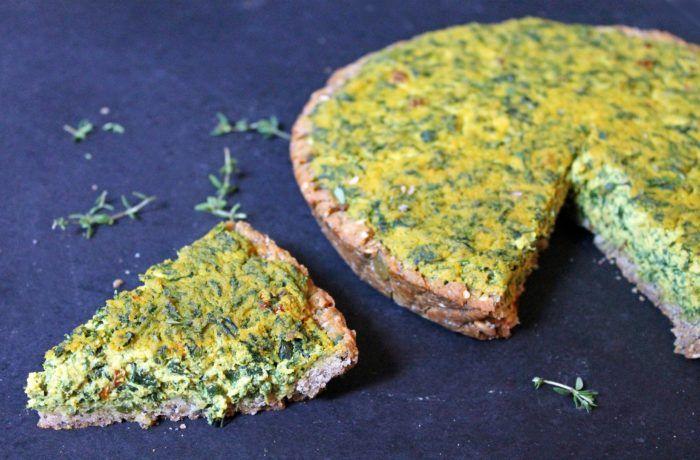 Torta salata Tofu e spinaci
