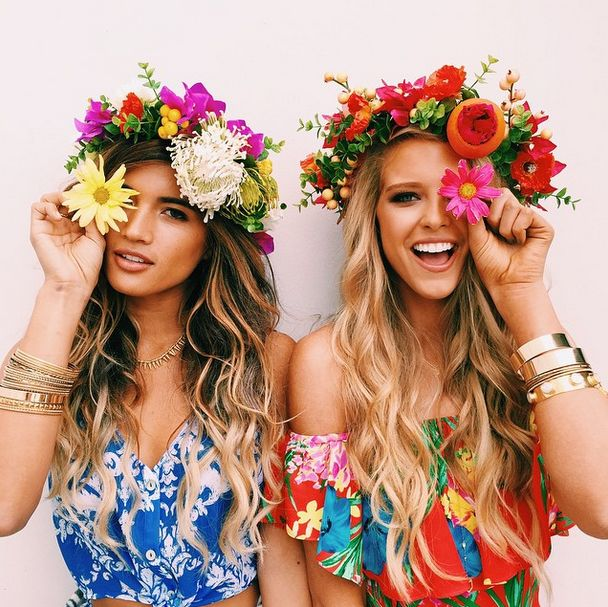 Show Me Your Mumu Festival Cuties: Rocky Barnes and Abby Grace Champion