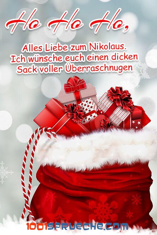 Nikolaus 49 Bilder Schone Spruche Lustig 2019 Lustige Weihnachtswunsche Weihnachtsmann Lustig Grusse Zum Nikolaustag