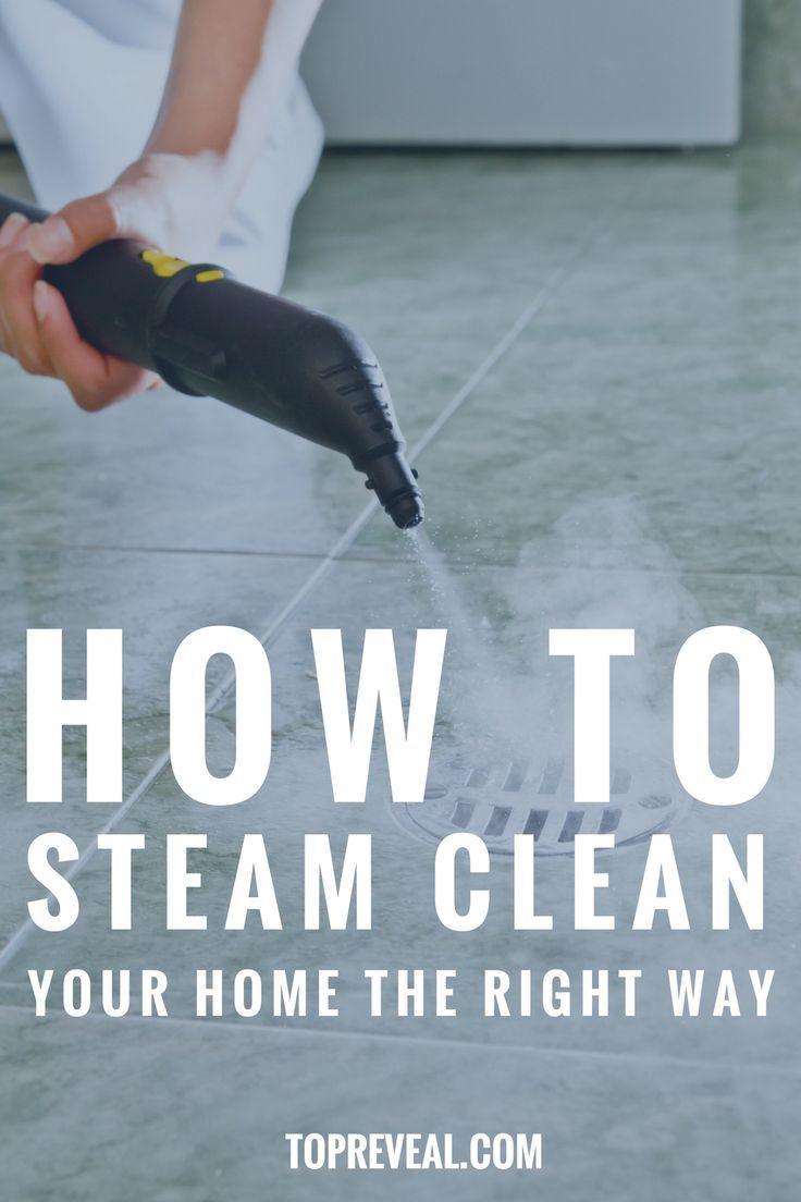 Steam cleaning isn't only good for killing dirt and germs. It is also one of the best ways to kill dangerous microorganisms which are hard to slay through other methods. #cleaning #homeimprovement #home #steam #housekeeping #homeorganization http://topreveal.com/how-to-steam-clean-your-home