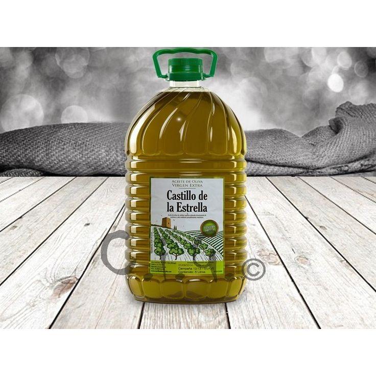 Aceite de Oliva Virgen Extra Garrafa de 5 litros