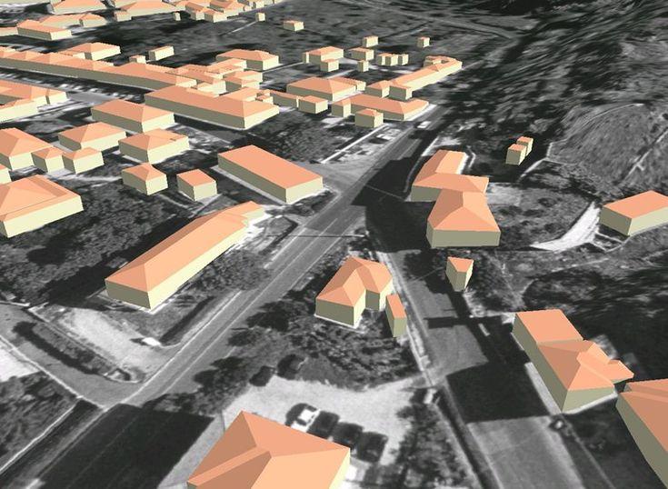 Plastico virtuale dell'area del M.te Castellare a S. Giuliano Terme, 2005 - Alberto Antinori