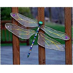 Dragonfly Craft Craft This beautiful dragonfly craft is made out of fabric