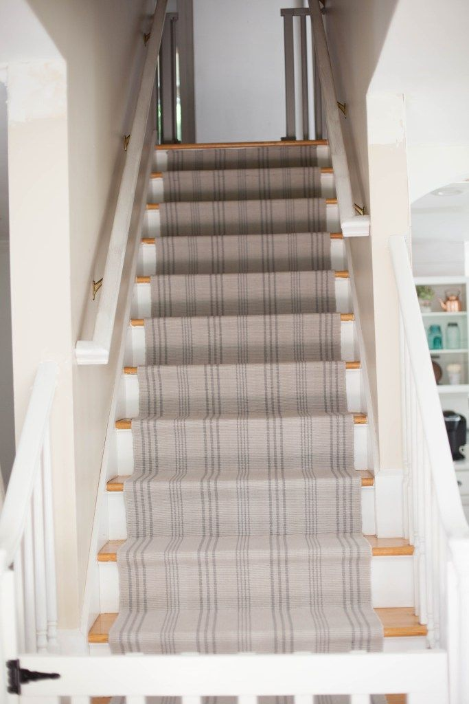 Elegant A Simple Guide To Making A DIY Stair Runner Using Area Rugs And Carpet Tape  For