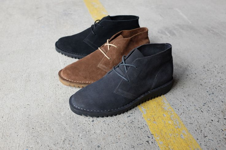 ::: SULTAN II ::: Ripple sole soft-suede desert boots in three colours. $119.95 http://www.urgefootwear.com.au/mens-shoes-online/sultan-black-suede
