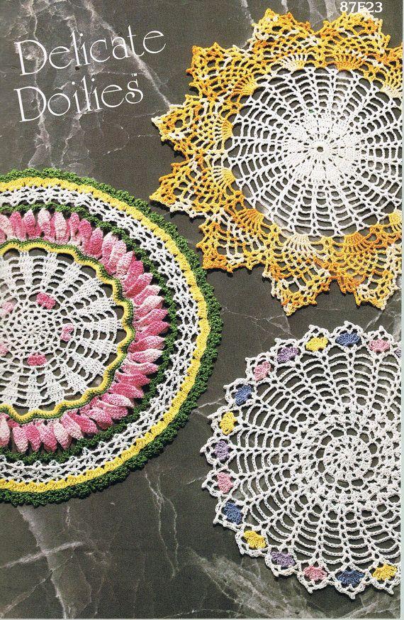 128 besten Vintage Crochet Bilder auf Pinterest | Häkelgarn, Kunst ...