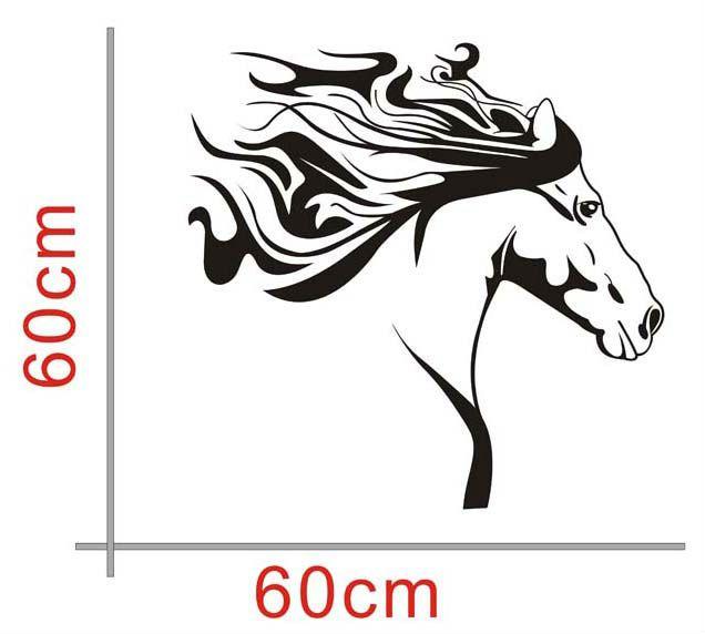 29 mejores im genes sobre caballos en pinterest - Dibujos infantiles para decorar paredes ...