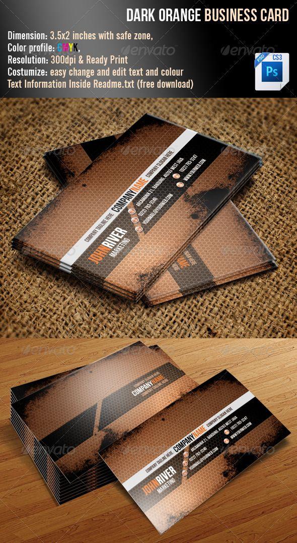 77 best print templates images on pinterest print templates font dark orange grunge business card font freeprint templatesadventurerbusiness reheart Choice Image