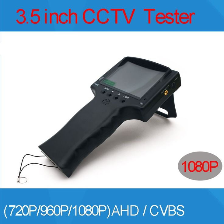 3.5 inch TFT LCD MONITOR COLOR 1080P 2MP 2 in 1 Surveillance AHD and Analog Camera TESTER With Network Cable Test Freeshipping * AliExpress Affiliate's Pin.  Click the image to view the details