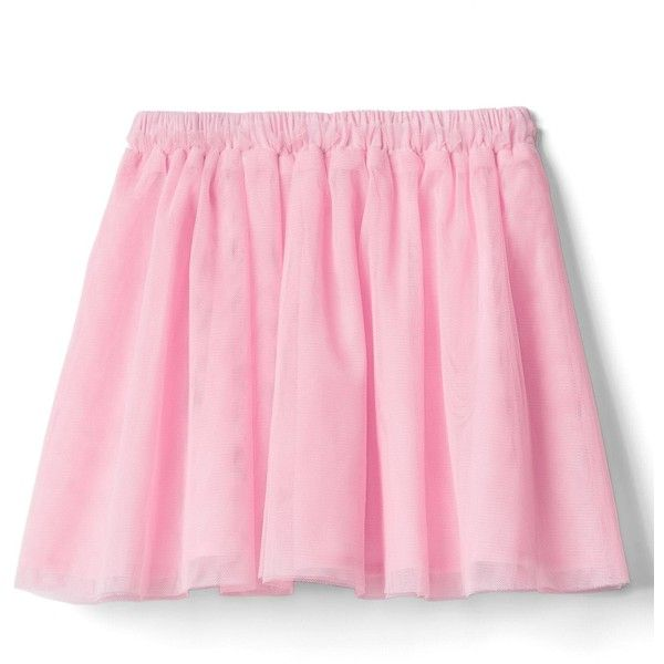 Tulle flippy skirt (920 PHP) ❤ liked on Polyvore featuring skirts, pink tulle skirt, pink skirt, tulle skirt, knee length tulle skirt and swing skirt