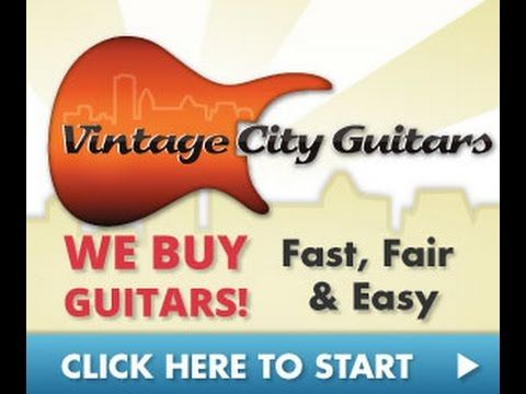 Sell Used Guitars | VintageCityGuitars.comSell Used Guitars | Visit https://VintageCityGuitars.com/sellers to sell your used guitar and get paid quickly. Vintage City Guitars is the best place to sell used guitars. Click the link above and fill out the seller form today to get a quick, online appraisal of your guitar and get paid as soon as possible. Whether your guitar is new, old, vintage, collectible... it doesn't matter. Visit https://VintageCityGuitars.com/sellers today to get started…