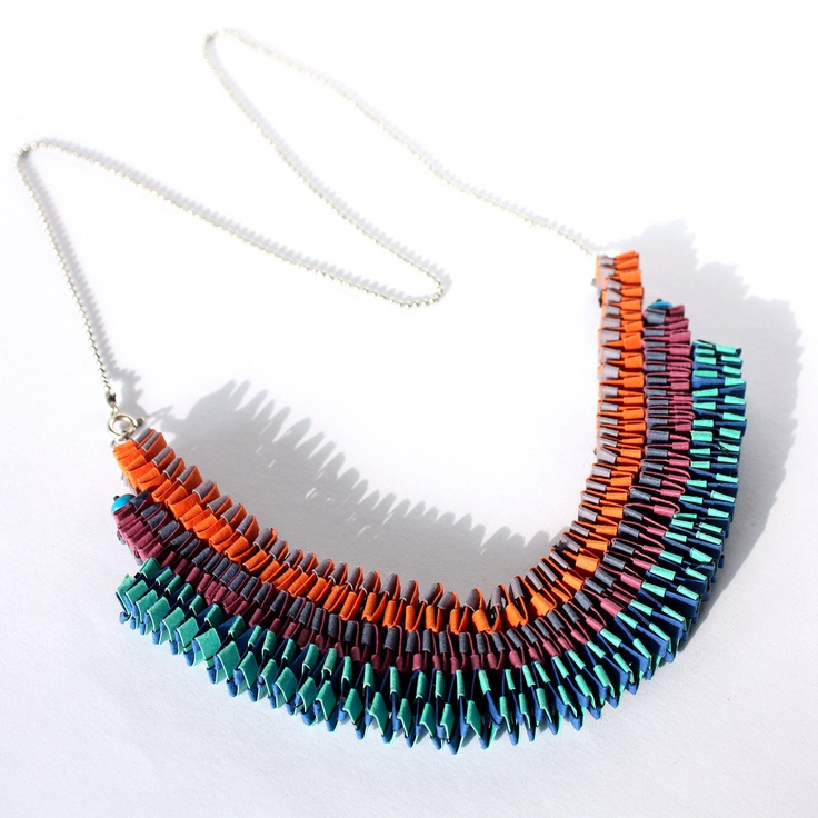 18 best Paper Jewellery images on Pinterest   Paper jewelry ...