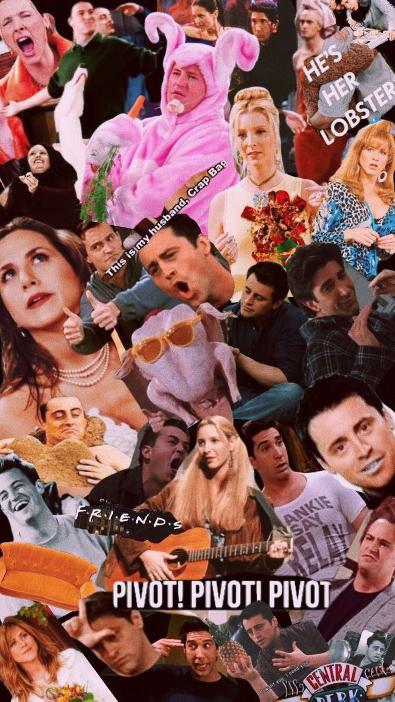 Friendstvshow Pivot Lobster Wallpaper Friends Collage Friends Tv