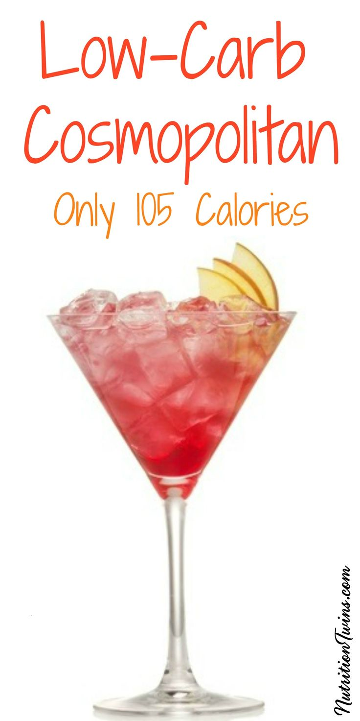 Low-Calorie Cocktail | Guilt-free Drink to Celebrate | For MORE RECIPES, fitness & nutrition tips please SIGN UP for our FREE NEWSLETTER www.NutritionTwins.com