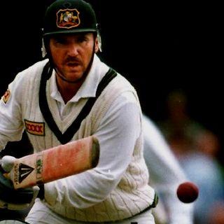 Allan Border - often a sole shining light throughout the dark days of 1980's Australian cricket.