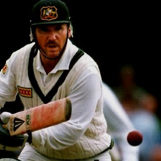 Allan Border - often a sole shining light throughout the dark days of 1980's Australian cricket.