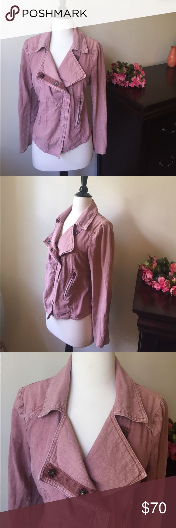 Pink Free People Jacket - Size Small (EUC) Pink Free People Jacket in excellent used condition. EUC Free People Jackets & Coats