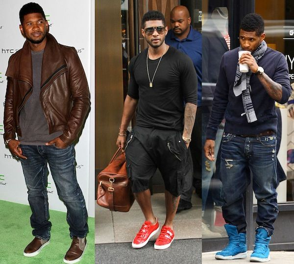Usher and His 2 Sons | ... for r b singer usher raymond with the passing of his step son kile