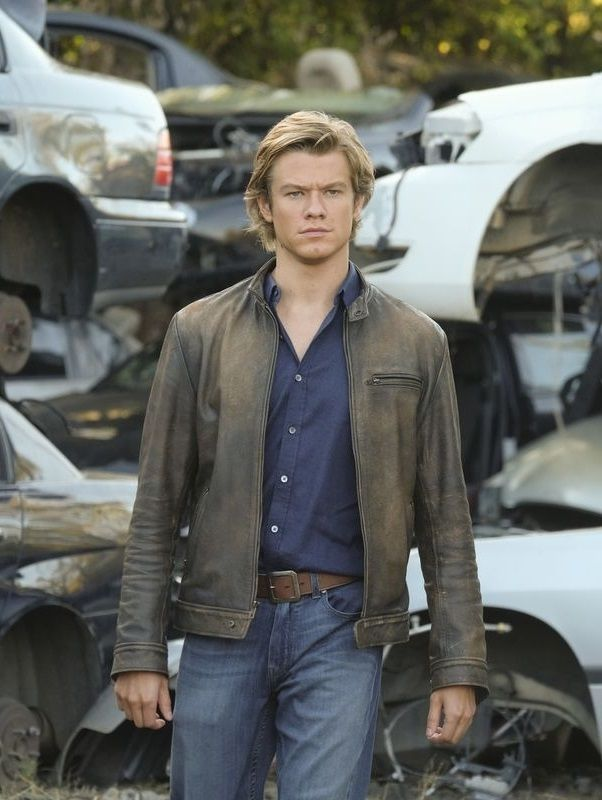 Lucas Till TV Series Macgyver Leather Jacket