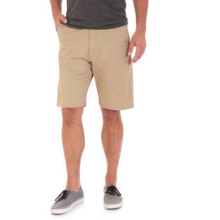 Wrangler Tall Men's Advanced Comfort Flat Front Short, Size: 36, Beige