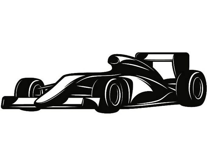Race Car 1 Racecar Equipment Auto Part Car Truck Nascar Indy Race Racing Svg Eps Png Digital Clipart Vector Cr Cool Car Drawings Vinyl For Cars Car Tattoos