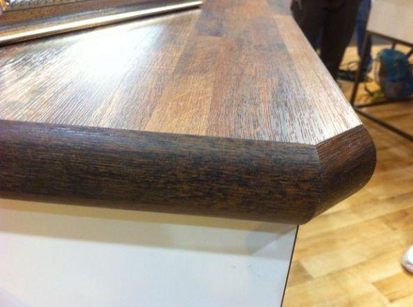 Wilsonart Wood Grain Laminate Somebody Called It Wood Grain Laminate Countertops Laminate Countertops Kitchen Countertops Laminate
