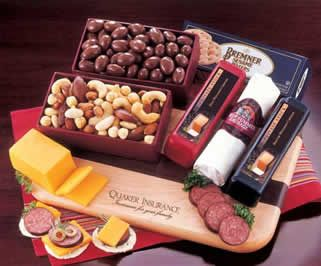 Meat and Cheese- gourmet food gifts & corporate food gifts   Food Items…