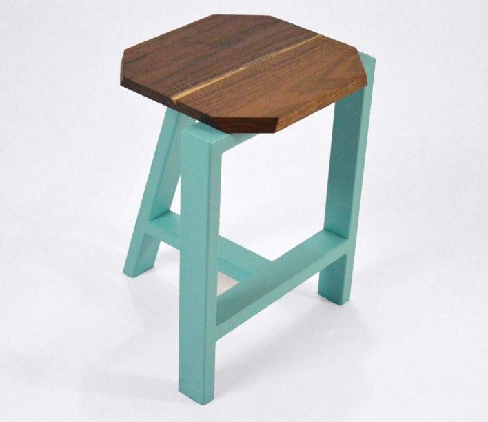 "Check out the #minimal# chic ""Treble"" #Stool by Joseph Cauvel. https://qrator.com/qration/24364"