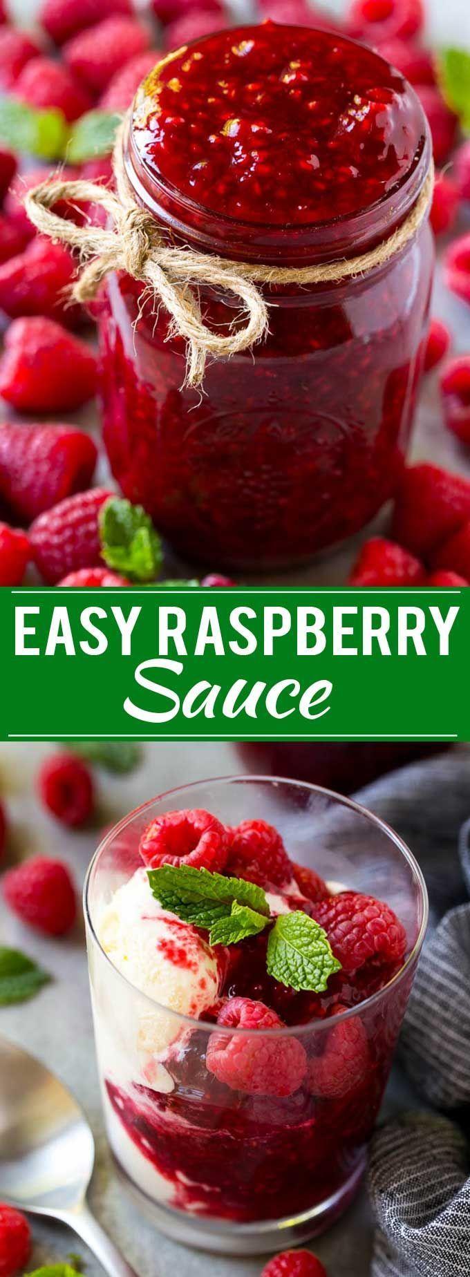 Raspberry Sauce Recipe | Homemade Raspberry Sauce | Raspberry Recipe #raspberrie…