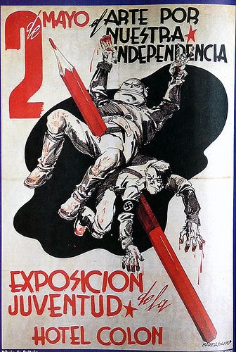 Posters from the spanish civil war / a set by ed ed #Spain #war #poster