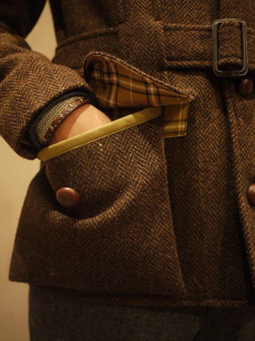 Norfolk Jacket - Pocket Detail