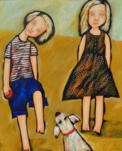 Backyard Fetch by Robyn Rankin