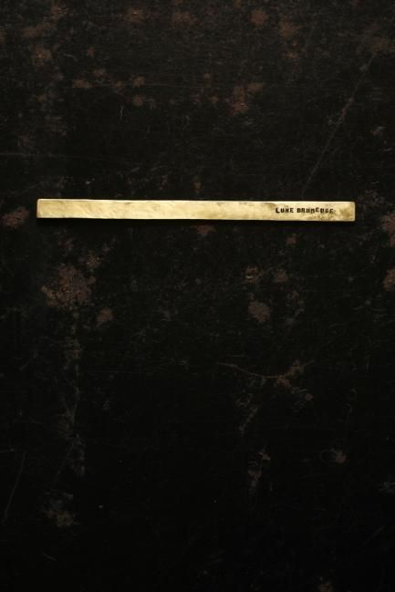 真鍮 表札 - Brass Plate #4 - IRRE
