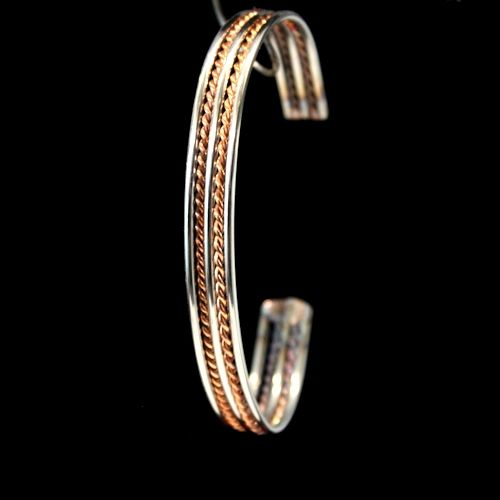 Handmade Jewelry For Men And Women This Bracelet Is Made From Copper Stainless Steel Wire Pinterest Bracelets