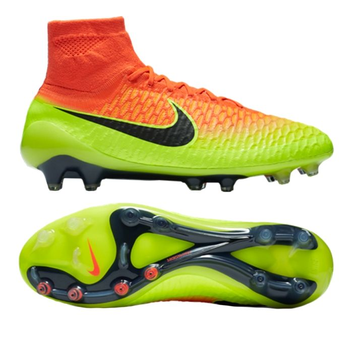 Nike Performance Magista Onda AgR Football Boots Total CrimsonBlackVoltBright Citrus  Nu8025