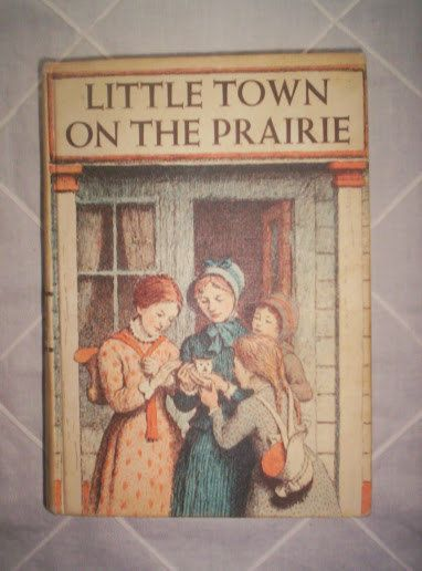 Vintage 1953 Little town on the praire book by by PortaPortese