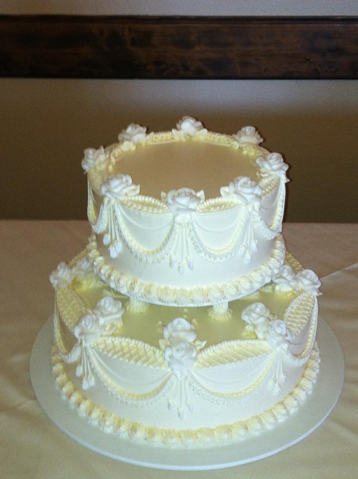 Cream Wedding Cakes Pinterest